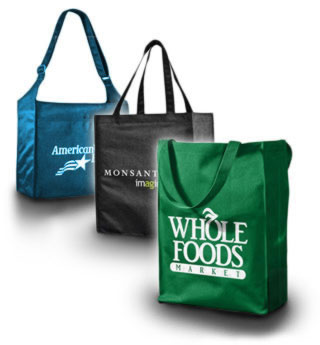 Custom Recycled Bags : Reusable Grocery Bags : Custom Eco Friendly ...